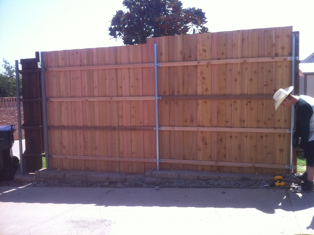 Red Rock Fence After