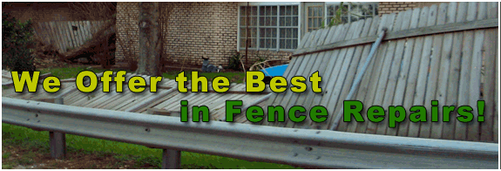 who to call for cheap fence repair arlington tx